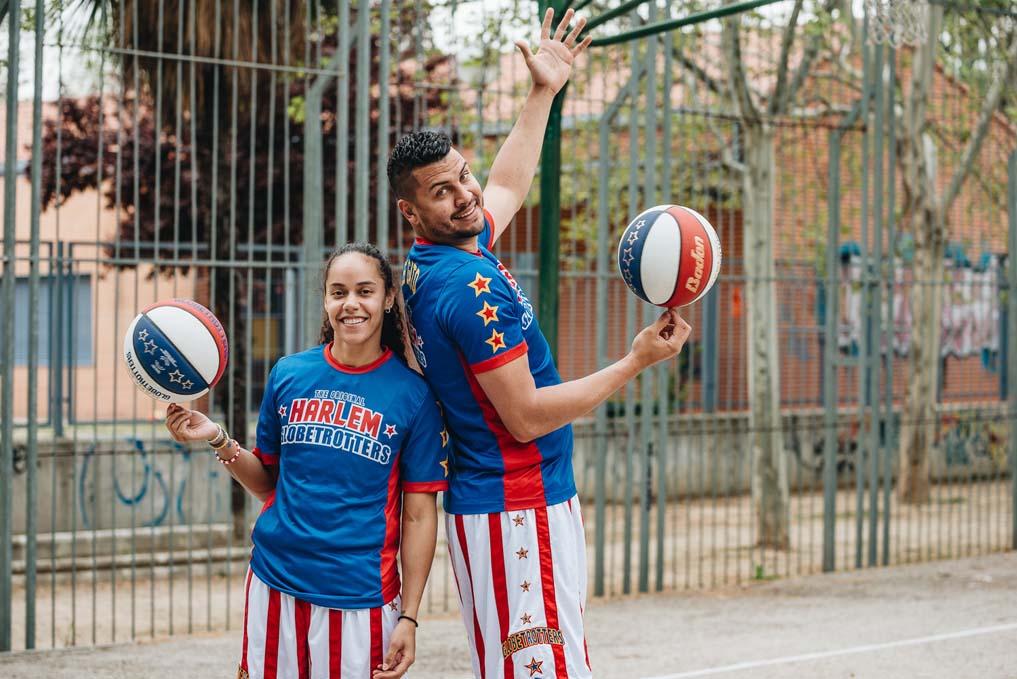 Los Harlem Globetrotters llegan a España