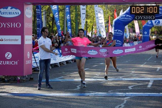 Elena García Grimau gana por tercera vez la Carrera de la Mujer de Madrid