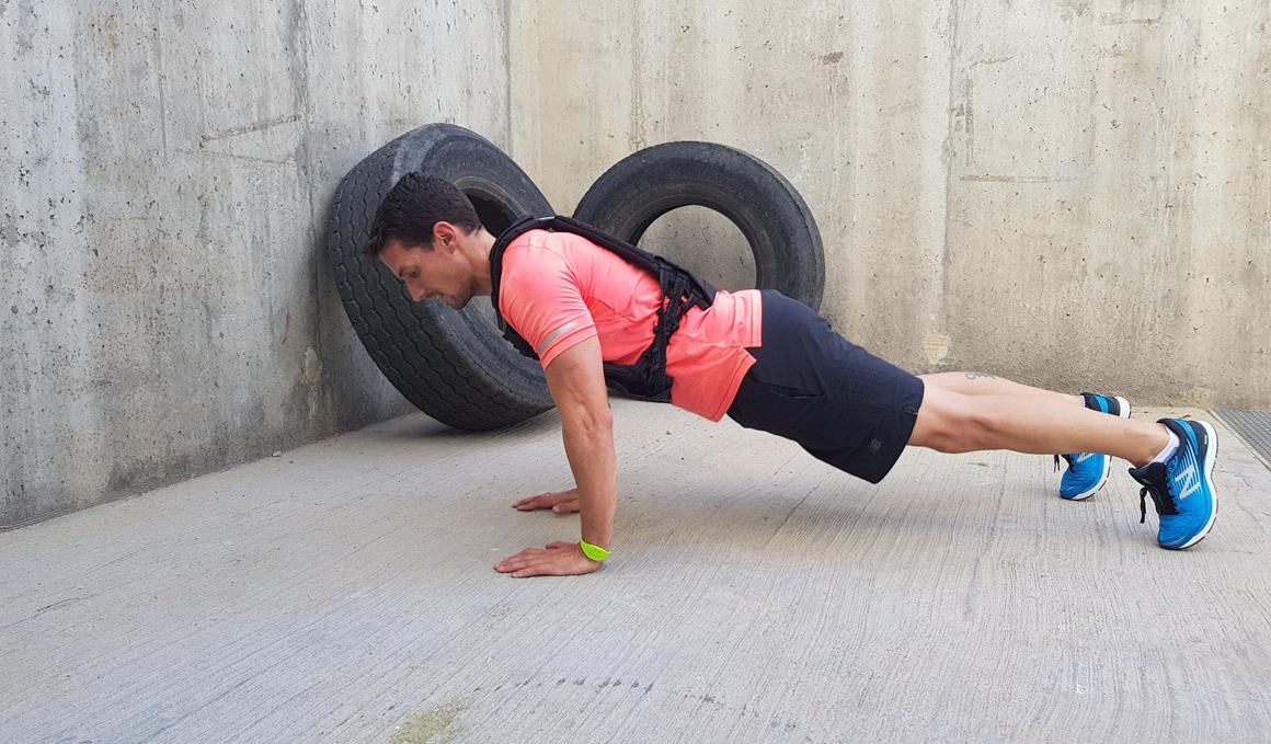 Aumenta tu fuerza y volumen muscular con chalecos lastrados