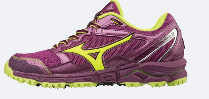 La zapatilla de trail running más ligera y dinámica de Mizuno