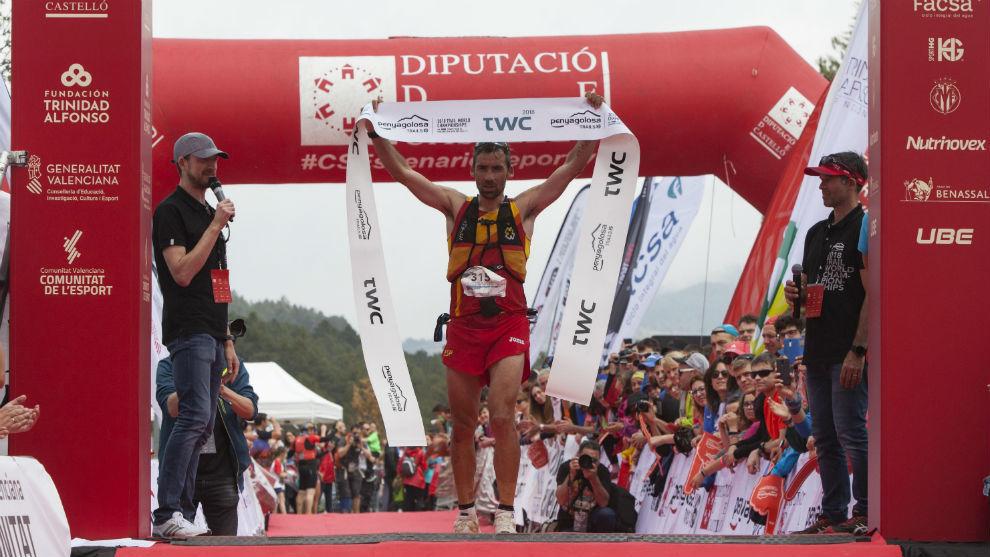 Luis Alberto Hernando, campeón del mundo de trail running
