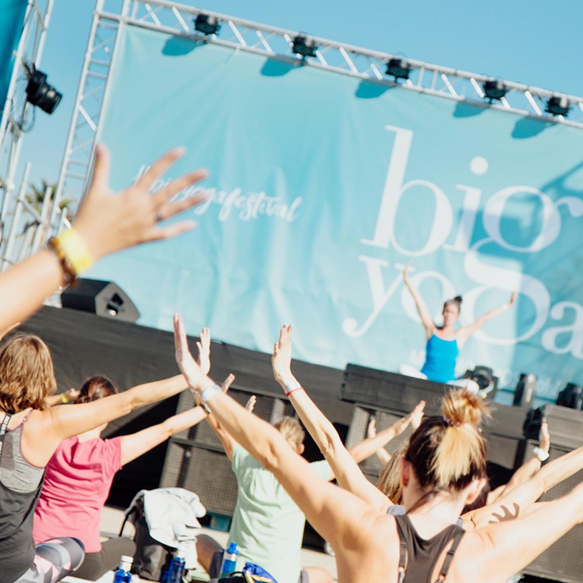 Ya está aquí la II edición del BigYoga Festival