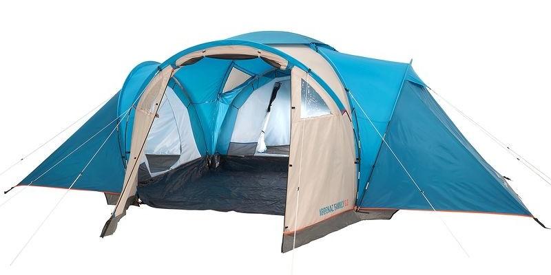 Una noche gratis de camping al comprar la tienda de campaña