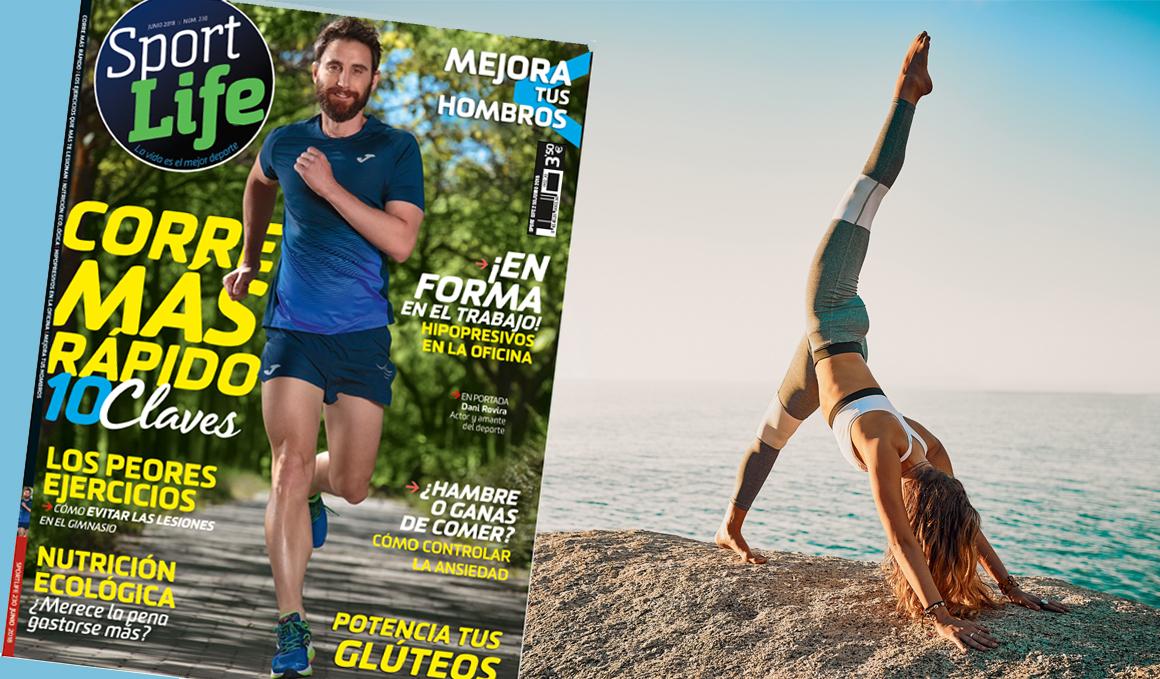 ¡Ya está aquí la Sport Life de Junio y en portada aparece el actor Dani Rovira!
