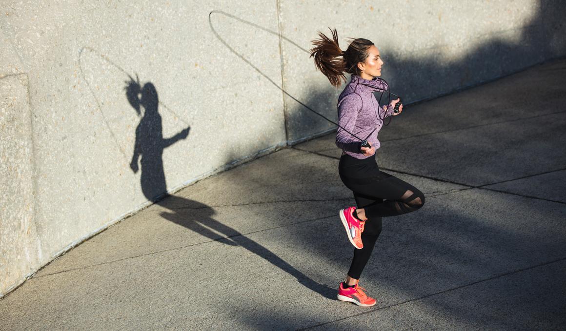 ¿Puede la comba sustituir al running?