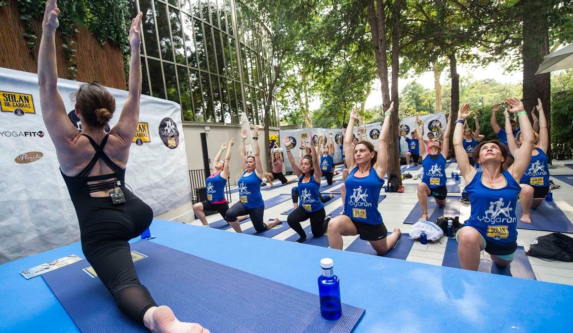 Abiertas las inscripciones para el Yoga Run Madrid