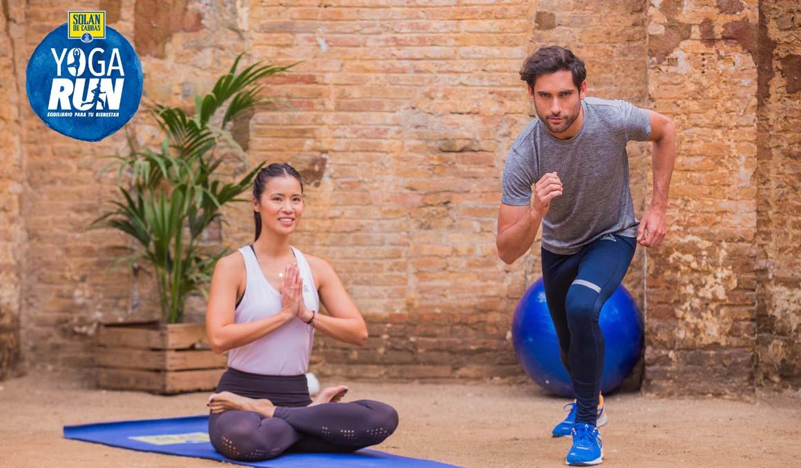 Xuan Lan y Pitufollow presentan Yoga Run 2018 de Solán de Cabras