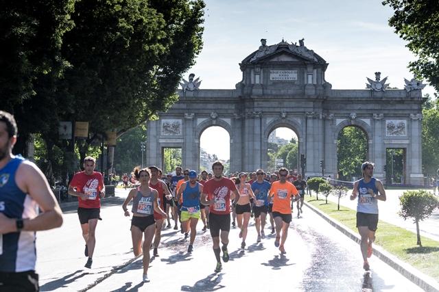 El Norte gana en el duelo del running en las calles de Madrid