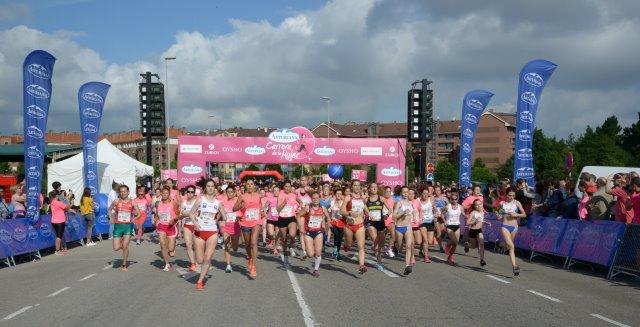 Miles de fotos gratis de la Carrera de la Mujer de Gijón