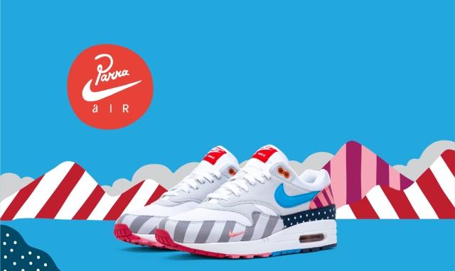 """El arte holandés """"pìnta"""" las nuevas Nike"""