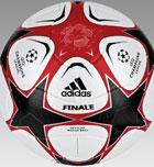El balón adidas patrocinará la Uefa