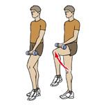 El ejercicio contra el dolor crónico de la rodilla