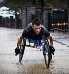 Santiago Sanz, un campeón en silla de ruedas