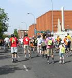 Marcha en Ciudad Lineal con Madridpatina