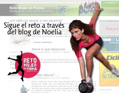 Sigue el reto a través del blog de Noelia