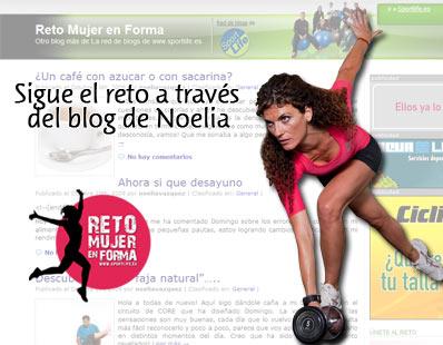 Sigue el reto a través del blog de Noelia