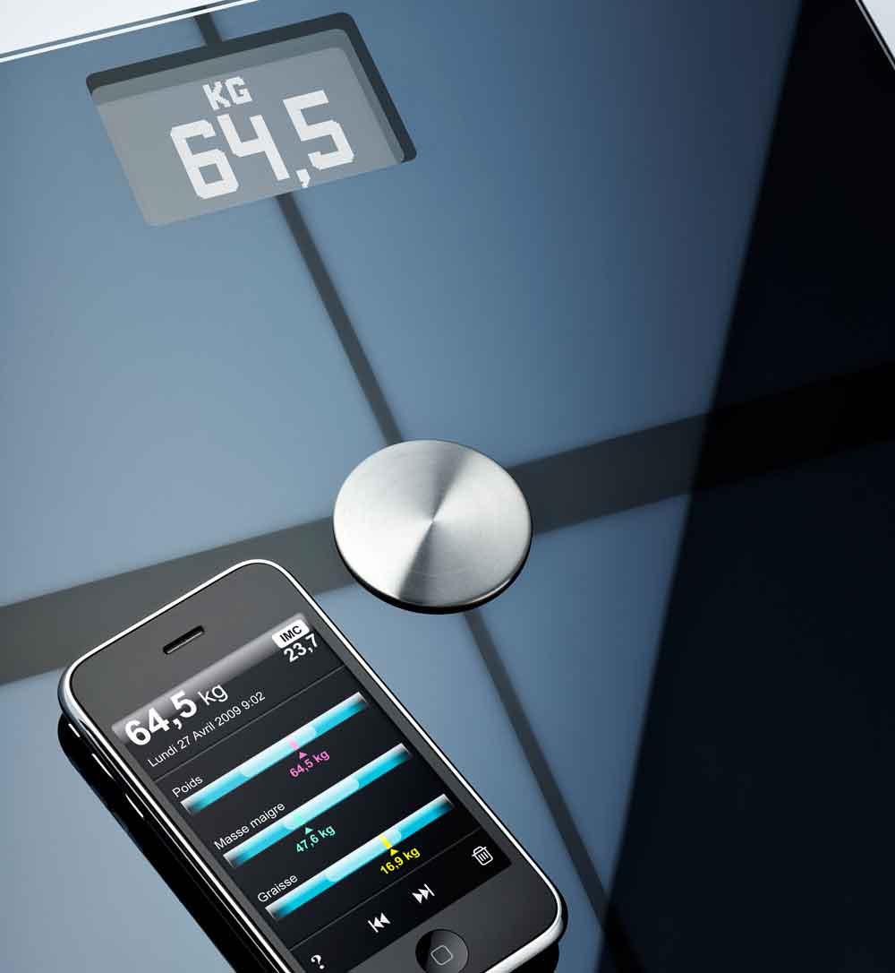 La báscula que 'habla' con tu iPhone