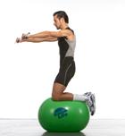 Mejora tu estabilidad con el fitnessball