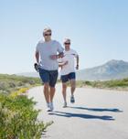 Correr, mejora con la doble sesión diaria