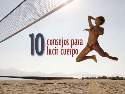 10 consejos para conseguir un cuerpo bikini