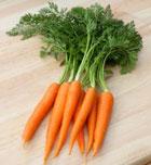 Alimentos deportivos: Zanahoria para el bronceado