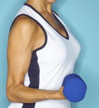 Cómo mantener y ganar masa muscular en verano