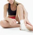 Salud deportiva: reconocer un esguince de tobillo