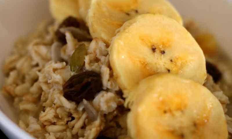 Receta:Batido de Plátanos de Canarias con muesli de chocolate