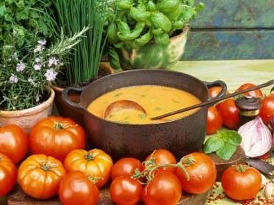 Alimentos deportivos: la sopa también es para el verano