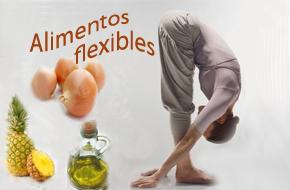 Alimentos deportivos: para ganar flexibilidad