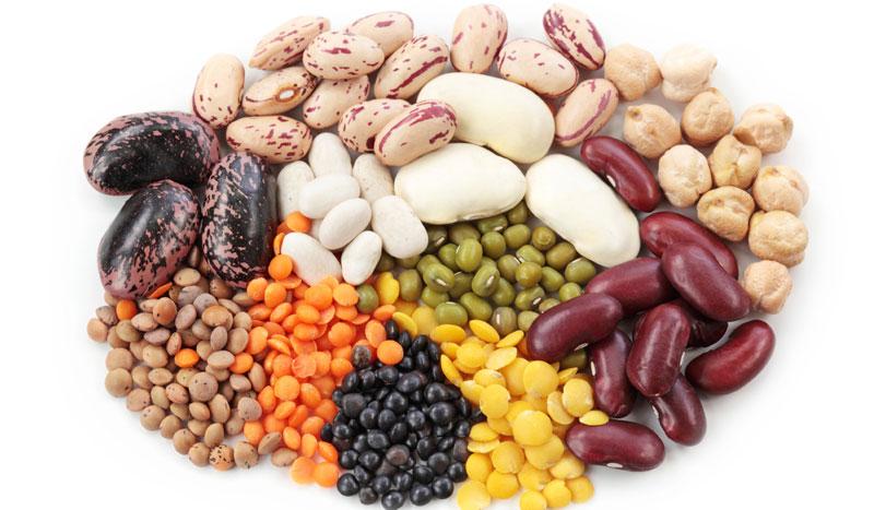 Alimentos deportivos: legumbres