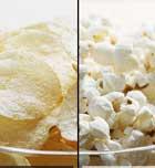 Alimentos deportivos: aperitivos con menos calorias