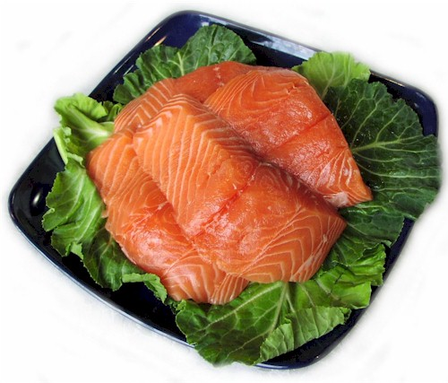 Alimentos deportivos: salmón