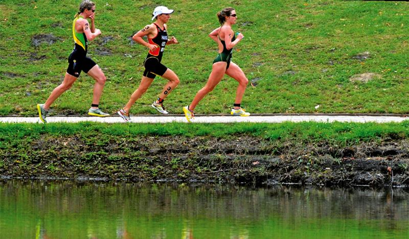 Técnica de carrera de triatlón
