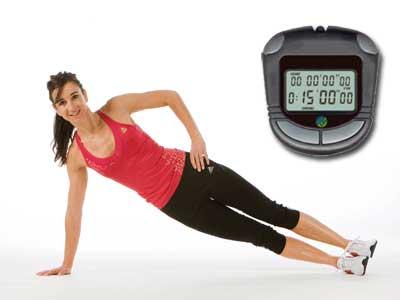 Rutina fitness: entrenamiento en 15 minutos