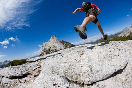 Técnica de carrera en montaña