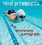 Plan de entrenamiento para quemar grasas en la piscina. Nivel principiante