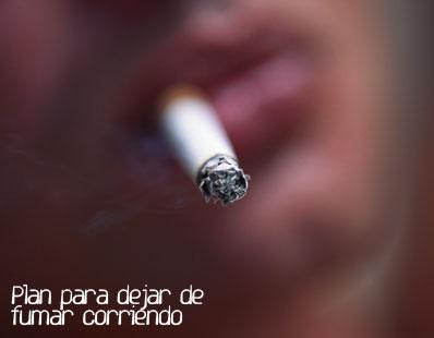 Plan para dejar de fumar gracias al running