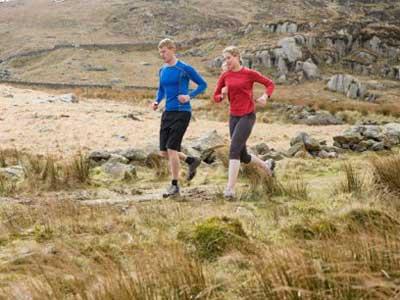 Los trucos para correr en montaña
