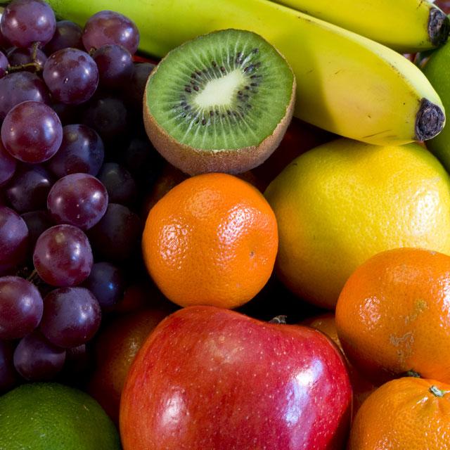 Tabla de alimentos ricos en antioxidantes