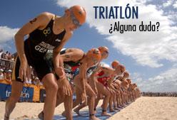 Soluciona las dudas para el primer triatlón