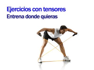 Ejercicios con tensores sportlife - Material para hacer ejercicio en casa ...
