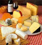 Comparativa de quesos y calorías