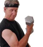 A la vejez... entrenamiento y proteínas