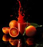 Prueba la naranja roja de Sicilia