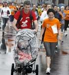 La historia de una corredora con cáncer de mama