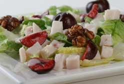 Receta: ensalada de pavo con cerezas