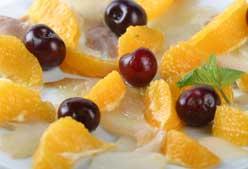 Receta: ensalada de bacalao con cerezas