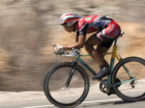 Estiramientos para ciclistas: cuadrado lumbar