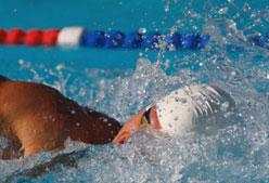 Estiramientos para nadadores: dorsal
